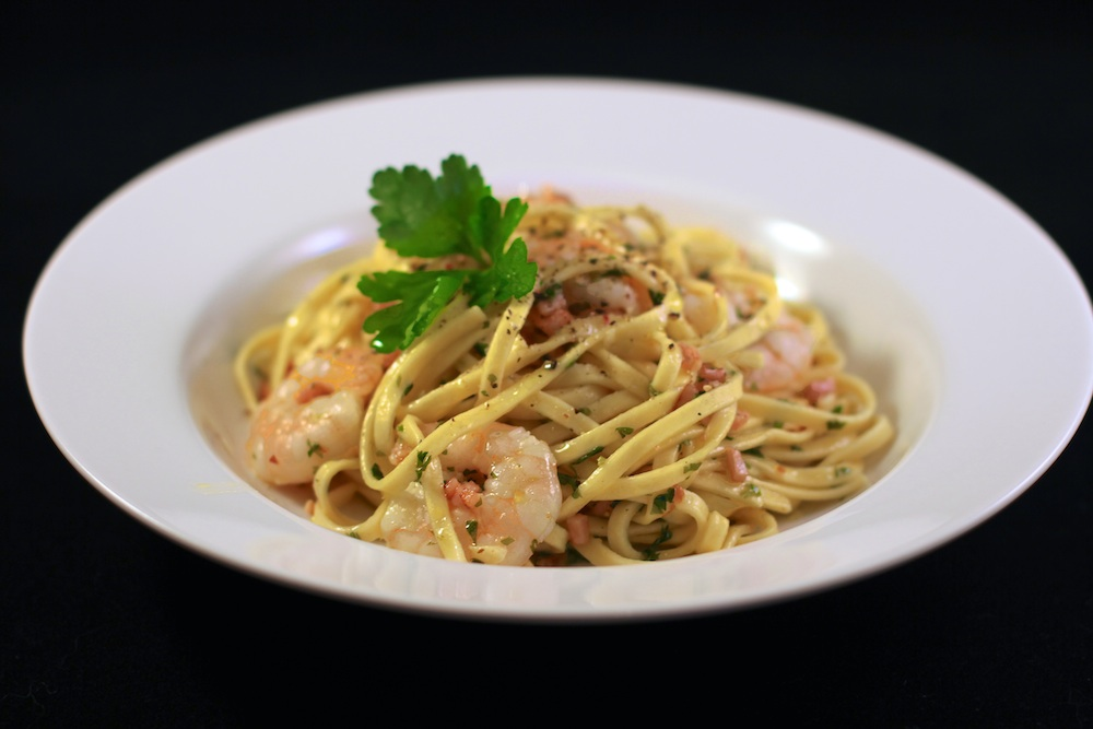 Linguini with Prawns copy